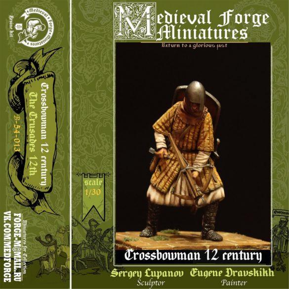 Crossbowman, 12th century