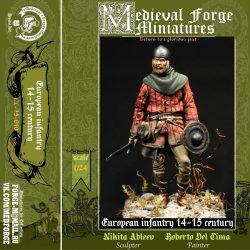 European infantryman 14-15 century