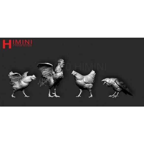 Set of birds for 75mm figures Vol. 2