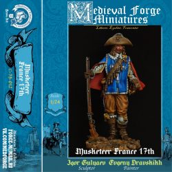 Musketeer, France 17th century