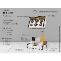 Weathering box WB1