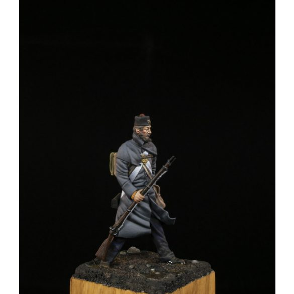 Officer of the 95th (Derbyshire) regiment, Crimea 1854