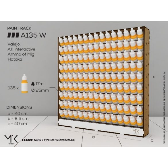Paint Rack A135 W